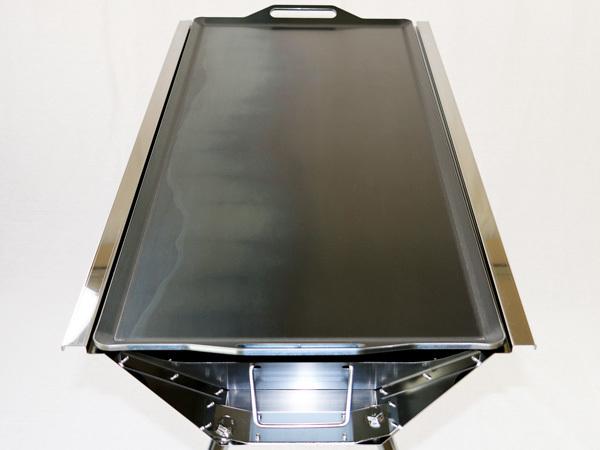 ユニフレーム UFタフグリル SUS-900 対応 グリルプレート 板厚4.5mm UN45-06_画像5