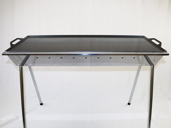 ユニフレーム UFタフグリル SUS-900 対応 グリルプレート 板厚4.5mm UN45-06_画像4