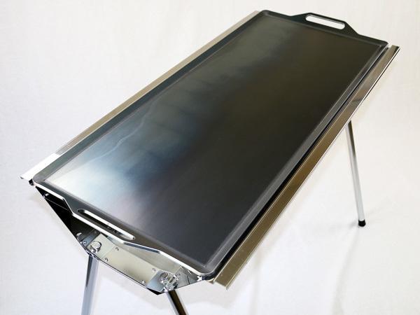 ユニフレーム UFタフグリル SUS-900 対応 グリルプレート 板厚4.5mm UN45-06_画像3