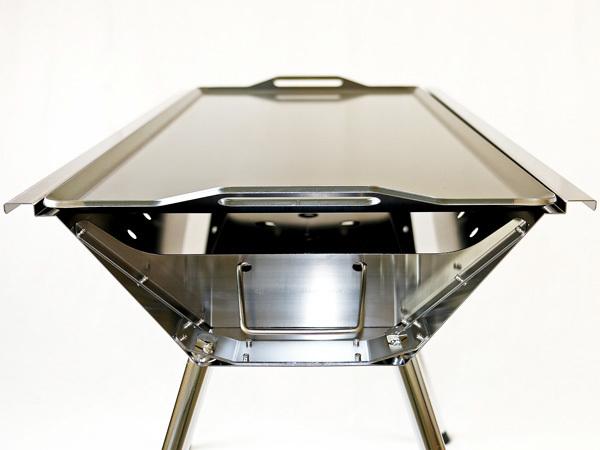ユニフレーム UFタフグリル SUS-900 対応 グリルプレート 板厚4.5mm UN45-06_画像6