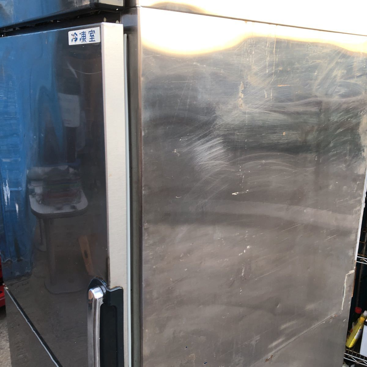 FUJIMAK フジマック 業務用冷凍冷蔵庫 FR7680FGD 2ドア 埼玉県ふじみ野市にて引取限定_画像3