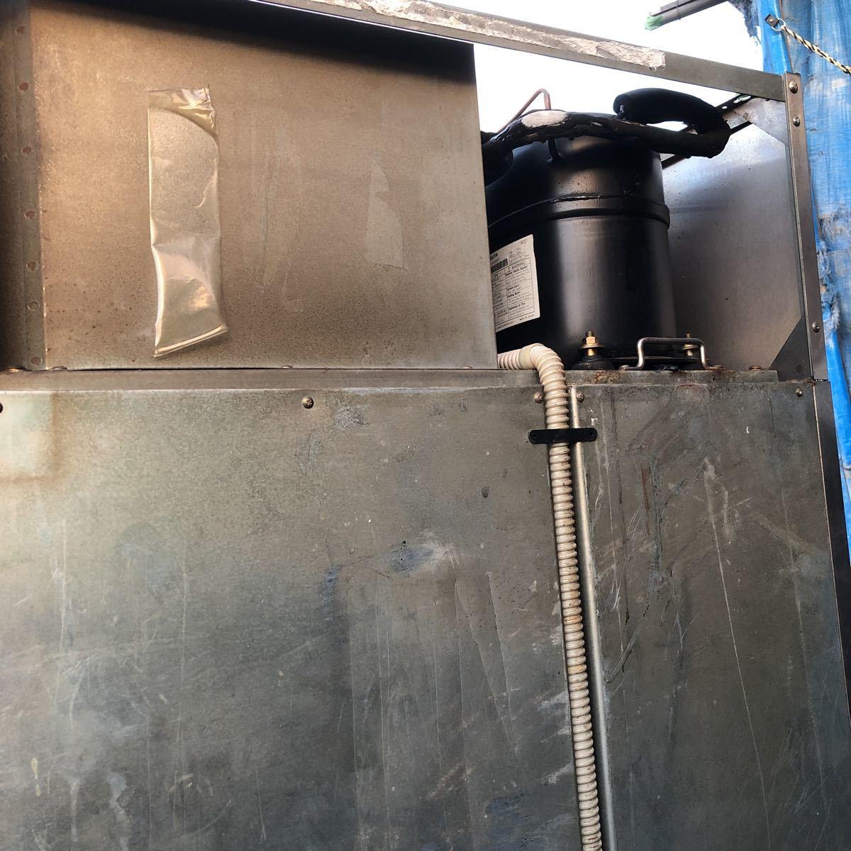 FUJIMAK フジマック 業務用冷凍冷蔵庫 FR7680FGD 2ドア 埼玉県ふじみ野市にて引取限定_画像8