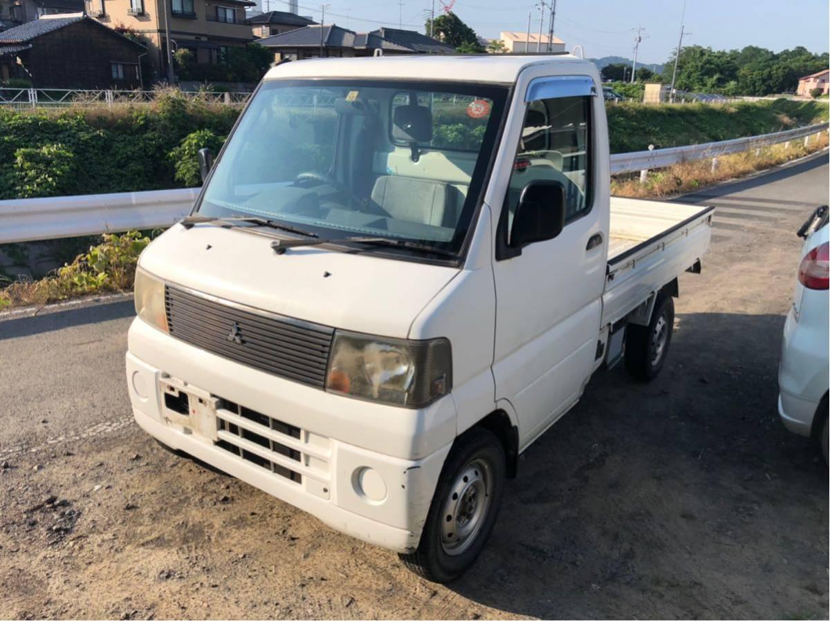 【最落無し売り切り】三菱 ミニキャブ 軽トラック 60100キロ マニュアル 5速