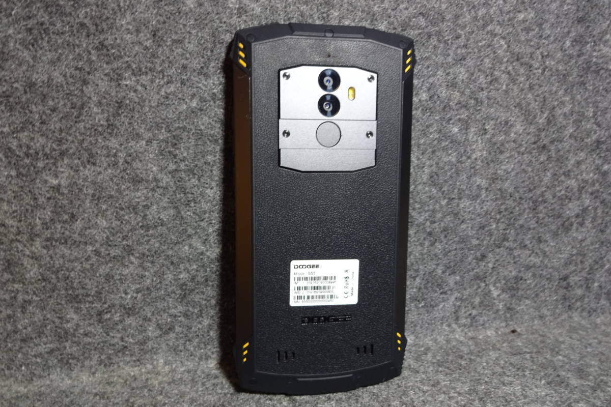 DOOGEE S55 タフネス スマホ 防水 防塵 アウトドア 現場仕事、お風呂でも使えます。_画像7