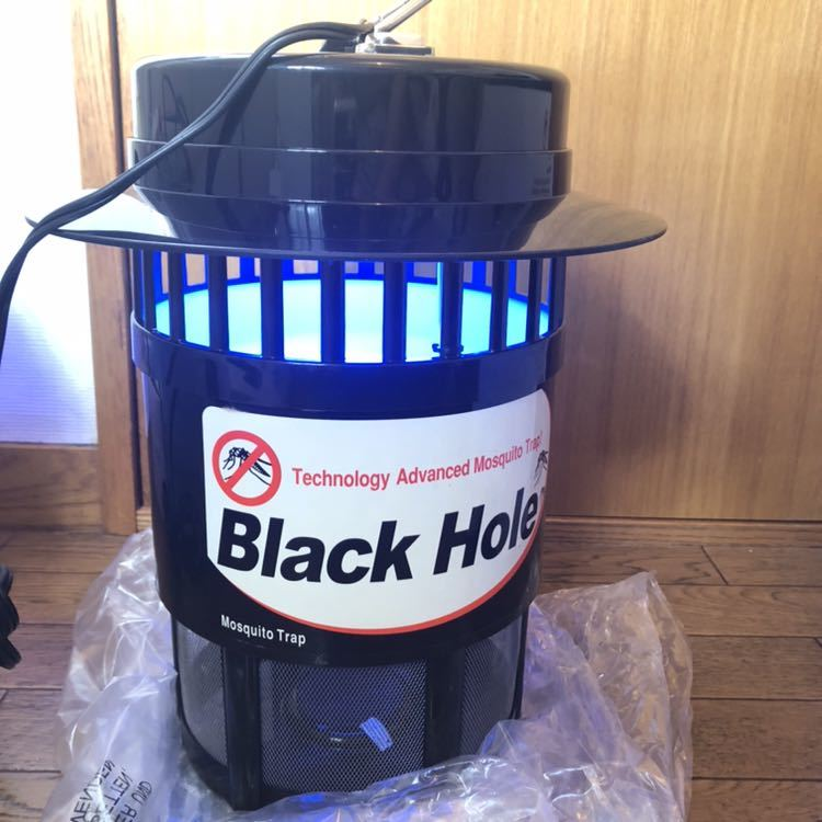 光触媒技術蚊取り機 ブラックホール 蚊取り 虫取り 無臭_画像4