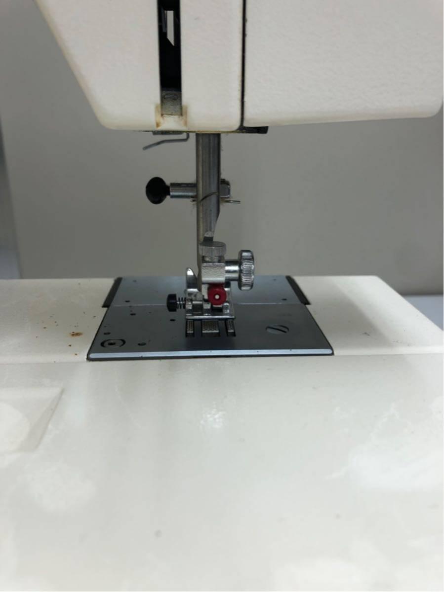 JANOME ジャノメ MEMORIA メモリア 5001型 電動ミシン コンピューターミシンフットコントローラー 糸付き ジャンク品_画像10