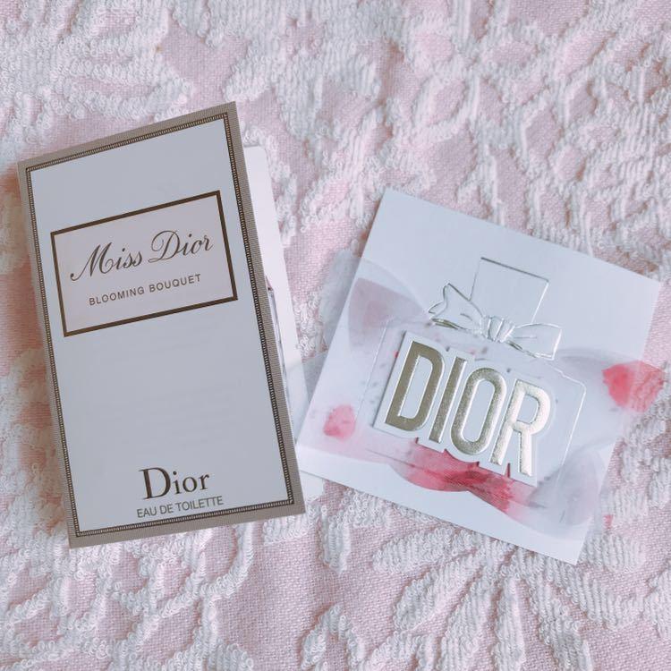 新作/Dior サンプルセット&ショッパー袋_画像2