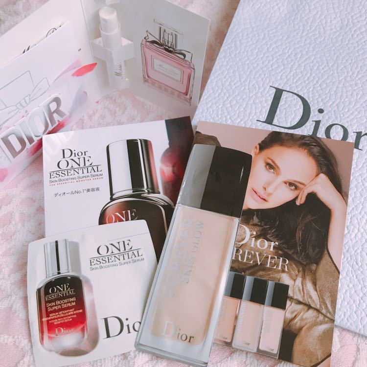 新作/Dior サンプルセット&ショッパー袋_画像1