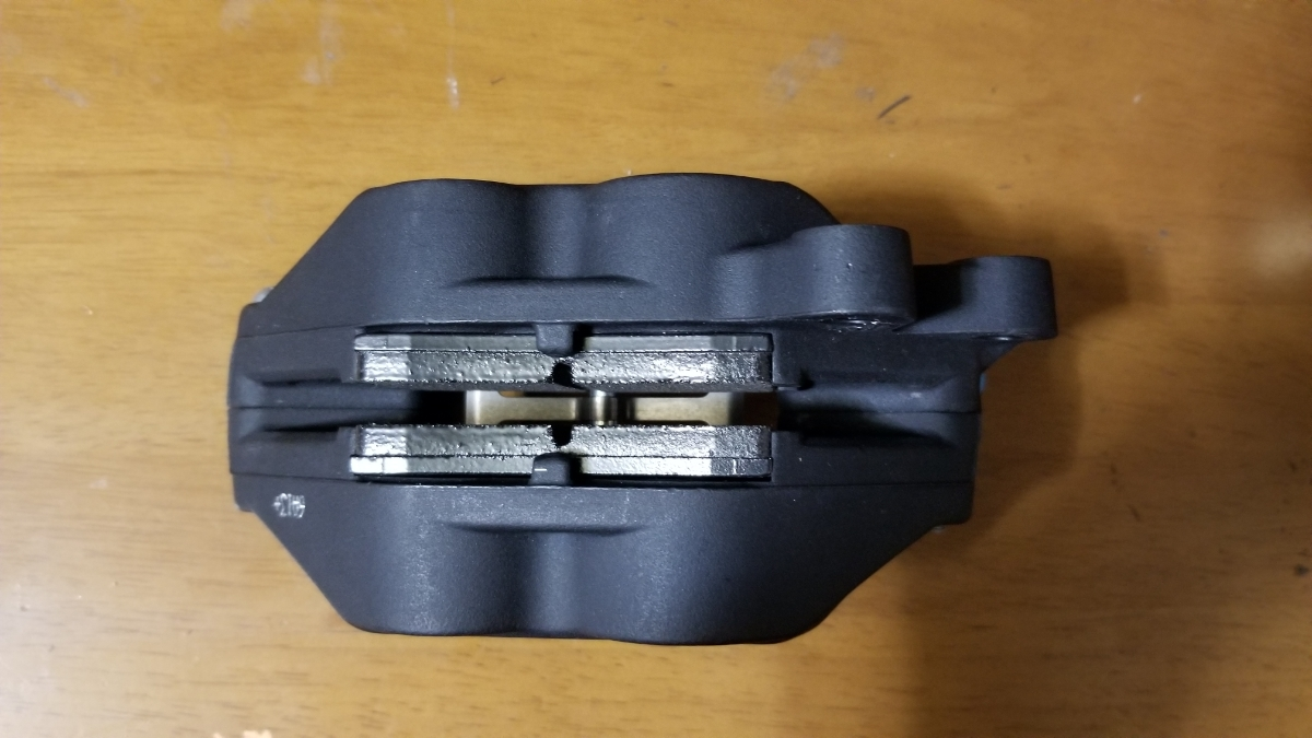 【未使用】【新品】brembo ブレンボ 『幻』限定モデル 4pot 40mmキャスティングキャリパー 右側_画像5