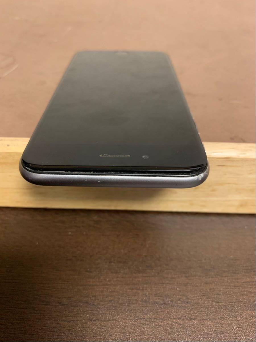 1円スタート iPhone 6 スペースグレイ 64GB ジャンク品 動作確認済 ドコモ docomo_画像3