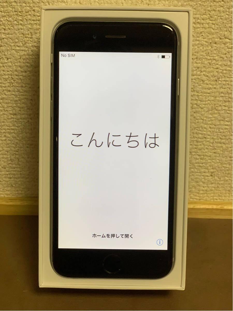 1円スタート iPhone 6 スペースグレイ 64GB ジャンク品 動作確認済 ドコモ docomo