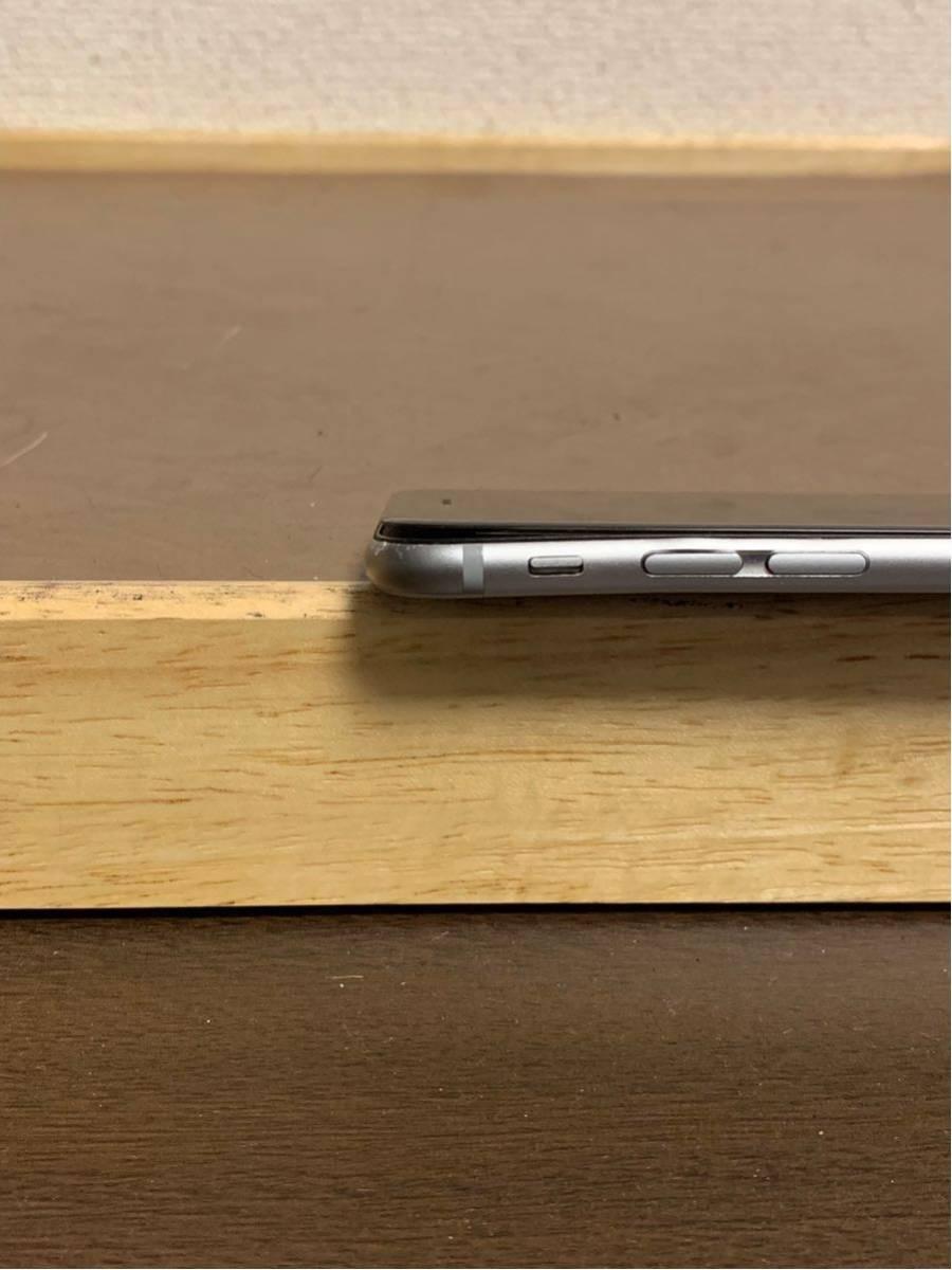 1円スタート iPhone 6 スペースグレイ 64GB ジャンク品 動作確認済 ドコモ docomo_画像2