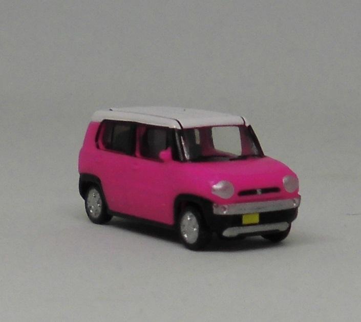 カーコレクション 基本セットO2ばらし スズキ ハスラー ピンク 3台あり カーコレ