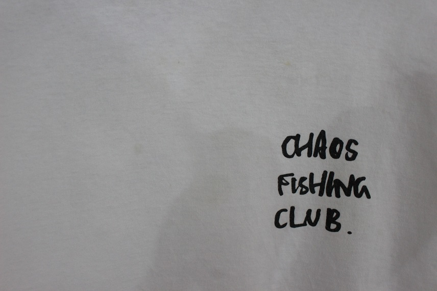 BEAMS T Chaos Fishing Club Hirotton Long Sleeve Tee 長袖 Tシャツ ホワイト size L 正規品 カオス フィッシィング クラブ _画像3