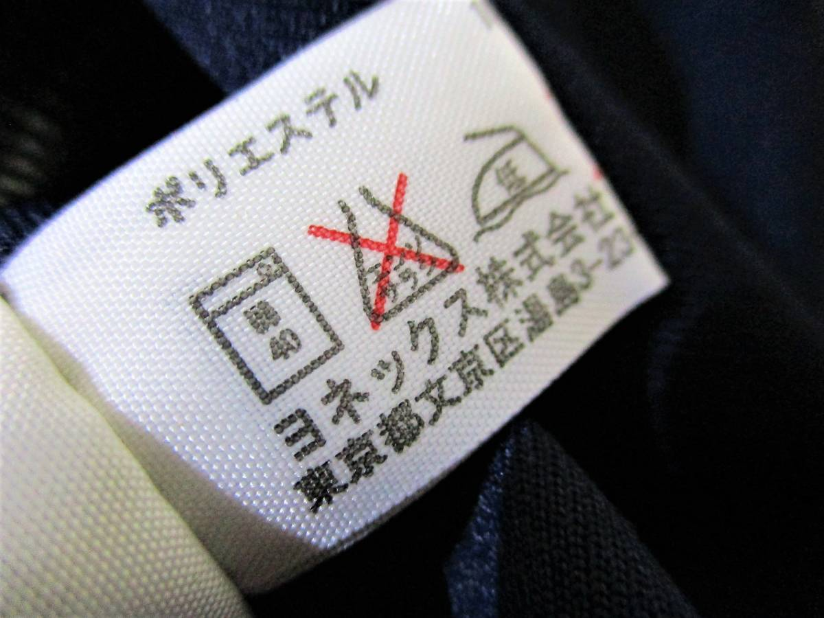 ◆YONEX ヨネックス◆半袖 吸汗速乾 Tシャツ ネイビー:L _画像9