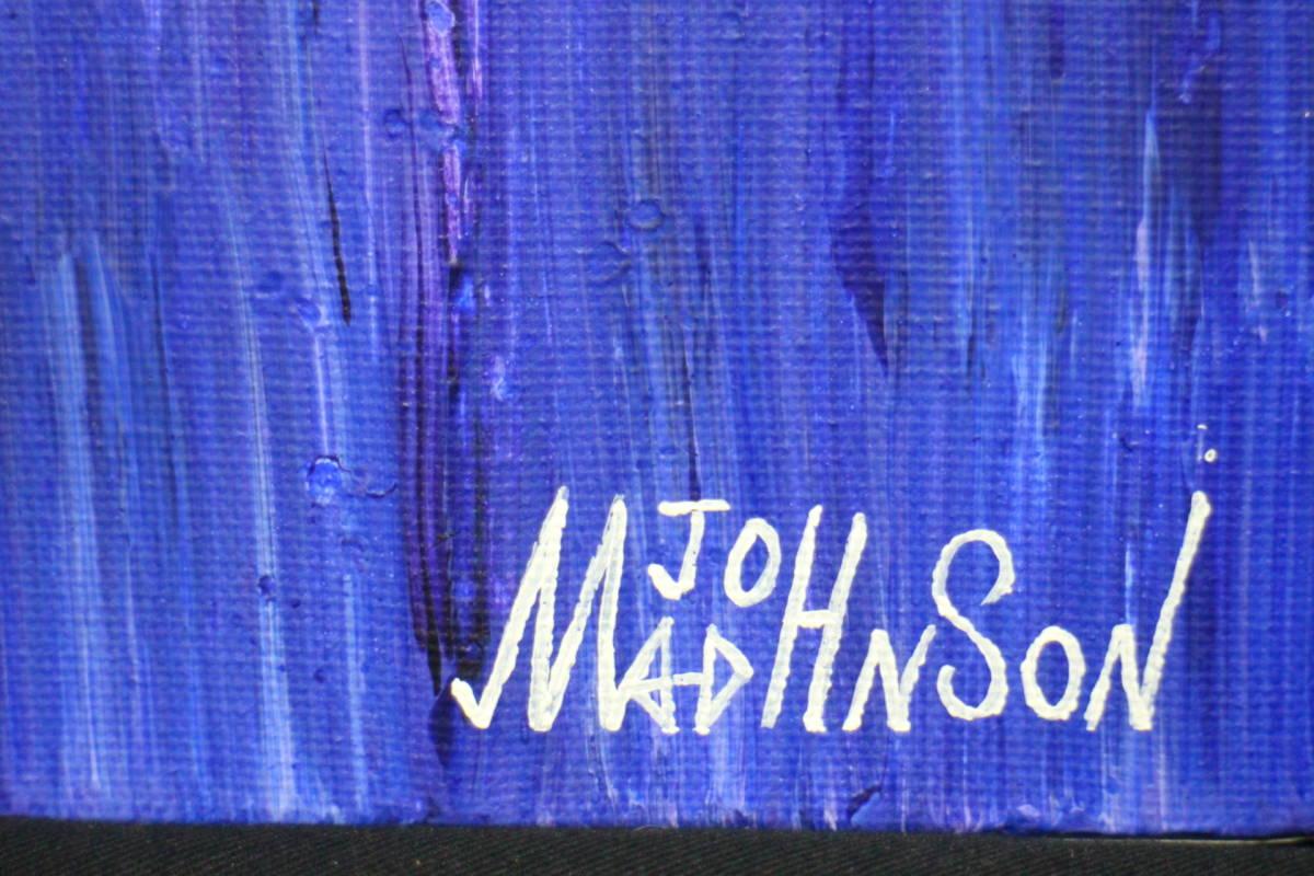 ★ マッドジョンソン「WATER」キャンバスに油彩_画像2