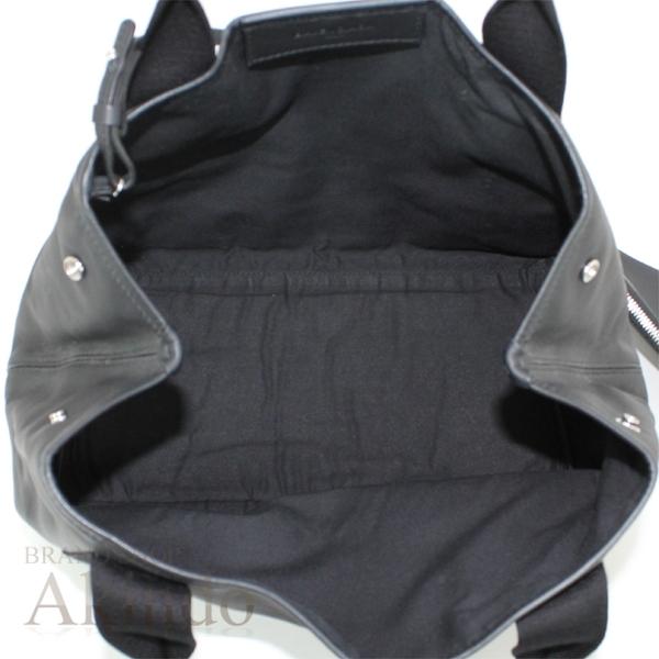 バレンシアガ ネイビーカバ S ハンドバッグ トートバッグ 黒 ブラック ソフトレザー レディース 339933 BALENCIAGA_画像7