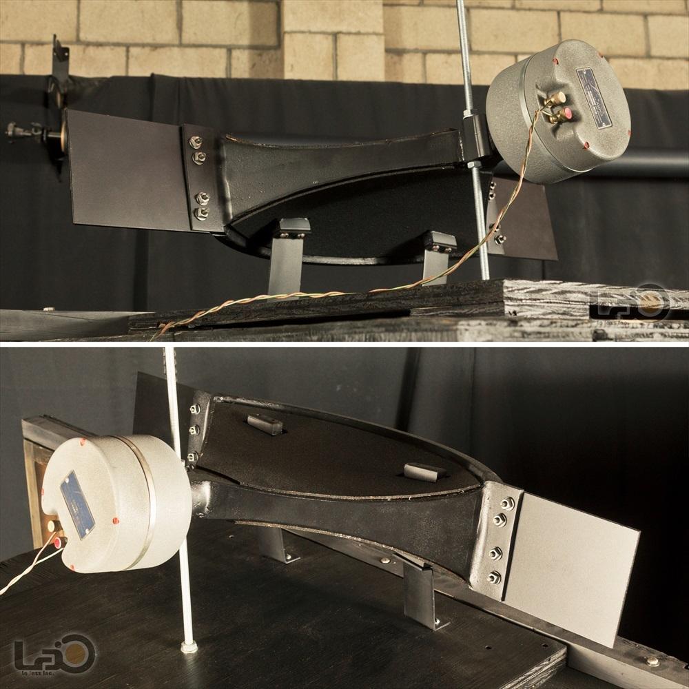 Jim B Lansing by Ampex Model 5030/550 ジムラン劇場用スピーカー 2ウェイ2スピーカー特大バックロードホーン型・劇場用システム_画像6
