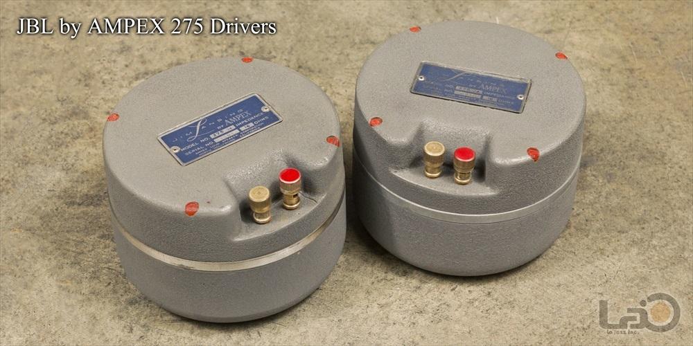 Jim B Lansing by Ampex Model 5030/550 ジムラン劇場用スピーカー 2ウェイ2スピーカー特大バックロードホーン型・劇場用システム_画像8