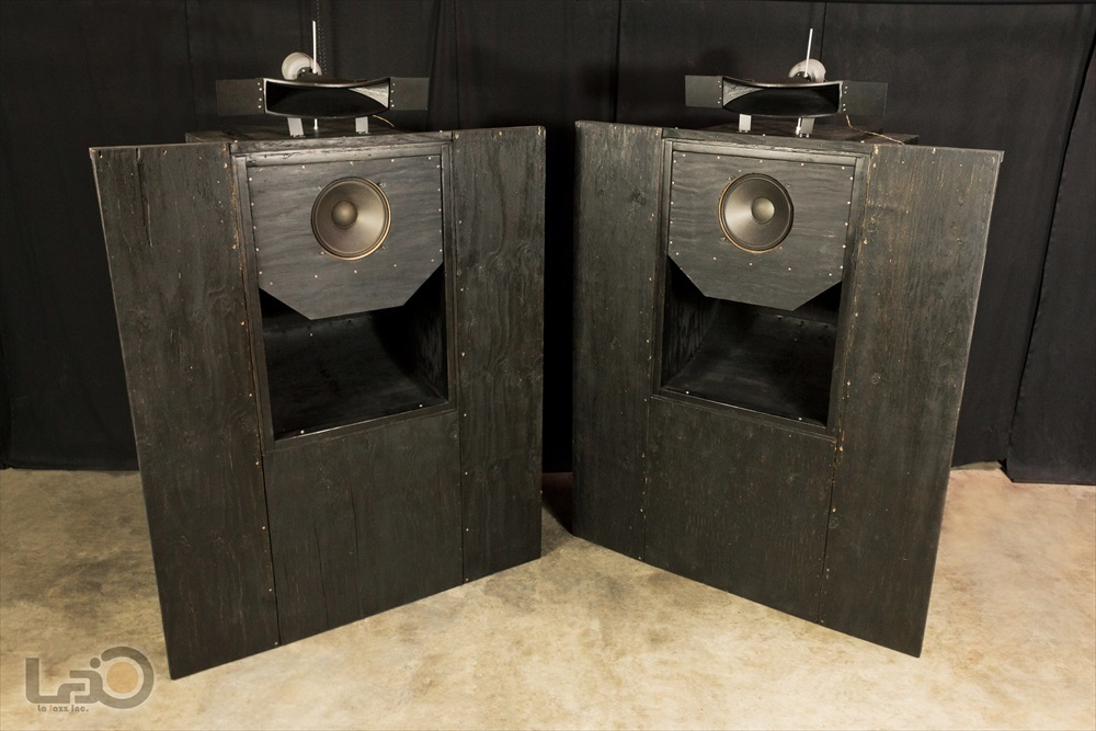 Jim B Lansing by Ampex Model 5030/550 ジムラン劇場用スピーカー 2ウェイ2スピーカー特大バックロードホーン型・劇場用システム_画像3