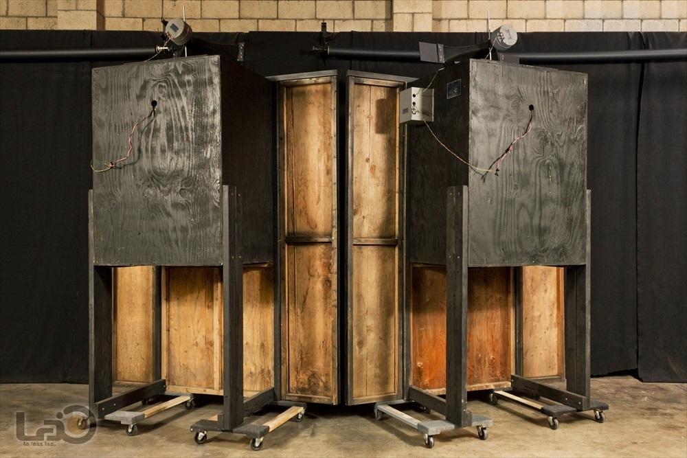 Jim B Lansing by Ampex Model 5030/550 ジムラン劇場用スピーカー 2ウェイ2スピーカー特大バックロードホーン型・劇場用システム_画像5