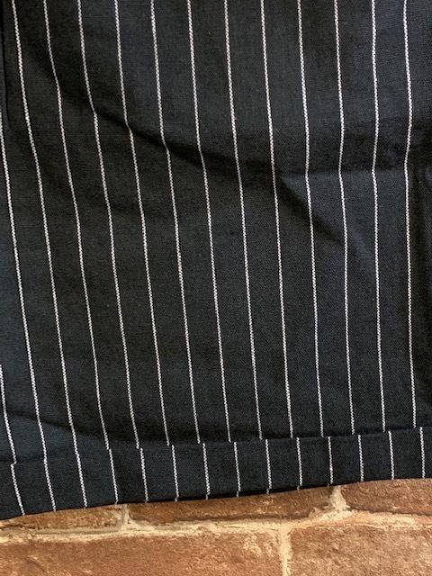 ★表記M/新品!インプローブス.imp.黒.ストライプ柄.ショートパンツ.配色◎.アメカジサーフサーファー.西海岸カリフォルニアスタイル/Y_画像6