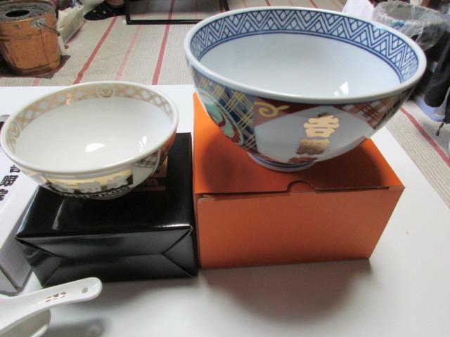 ★非売品吉野家丼ぶり、茶わん、湯飲み、レンゲセット,箸セット5点新品_画像3
