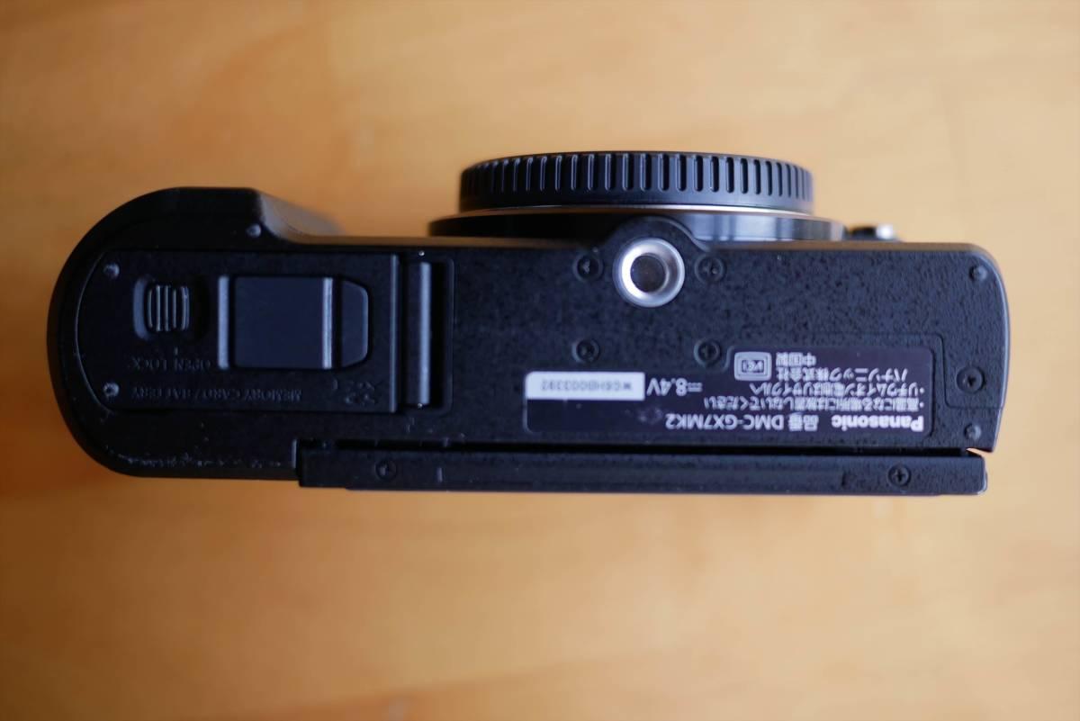 Panasonic DMC-GX7 Mk2 本体 ボディ ブラック 付属品あり 販売店6カ月保証あり_画像5