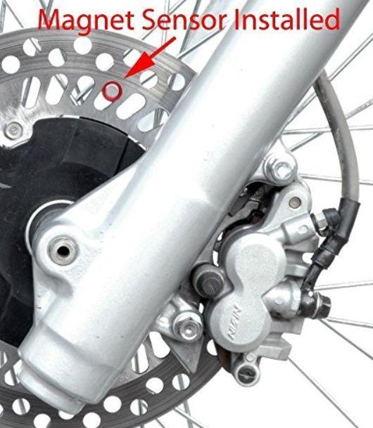 送料無料 ストラップ付属 最新型 スピードメーター Endurance II RMZ250 RMZ450 DRZ400 2000-2018年式_画像6