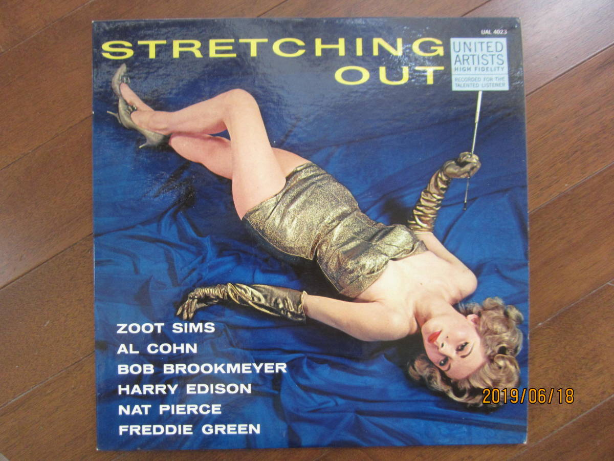◆ Zoot Sims/Streching Out レア 白プロモ 美品 超すごい音 ◆