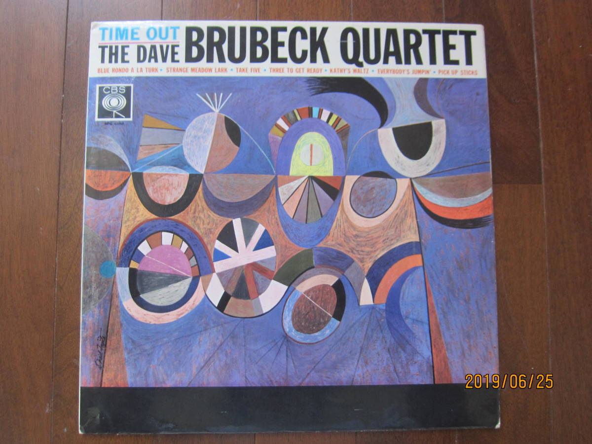 ◆ Dave Bluebeck/Time Out UKオリジナル モノラル 超美盤 すごい音 ◆