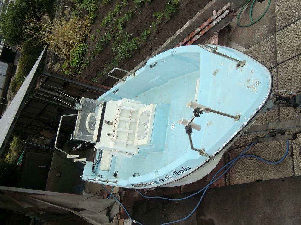 ヤンマー16f スズキ30ps4st トレーラー付属 岡山発_画像2