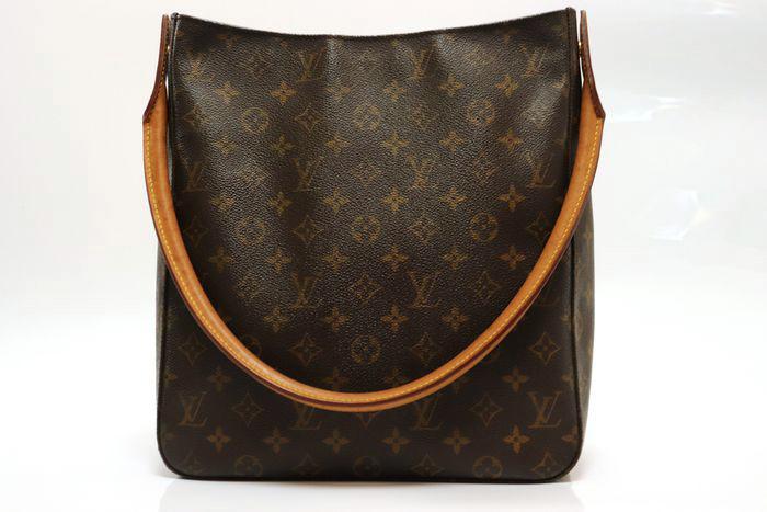 【美品】ルイヴィトン Louis Vuitton モノグラム ルーピングGM ショルダーバッグ レディース レザー 鞄 定価約15万円_画像2