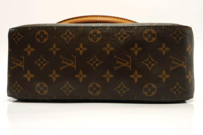 【美品】ルイヴィトン Louis Vuitton モノグラム ルーピングGM ショルダーバッグ レディース レザー 鞄 定価約15万円_画像3