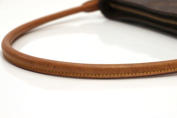 【美品】ルイヴィトン Louis Vuitton モノグラム ルーピングGM ショルダーバッグ レディース レザー 鞄 定価約15万円_画像6