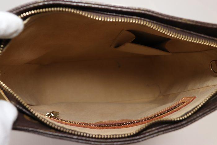 【美品】ルイヴィトン Louis Vuitton モノグラム ルーピングGM ショルダーバッグ レディース レザー 鞄 定価約15万円_画像7