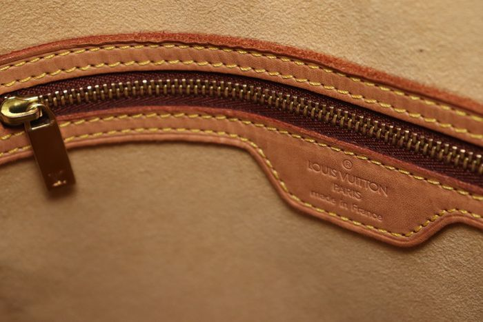 【美品】ルイヴィトン Louis Vuitton モノグラム ルーピングGM ショルダーバッグ レディース レザー 鞄 定価約15万円_画像8