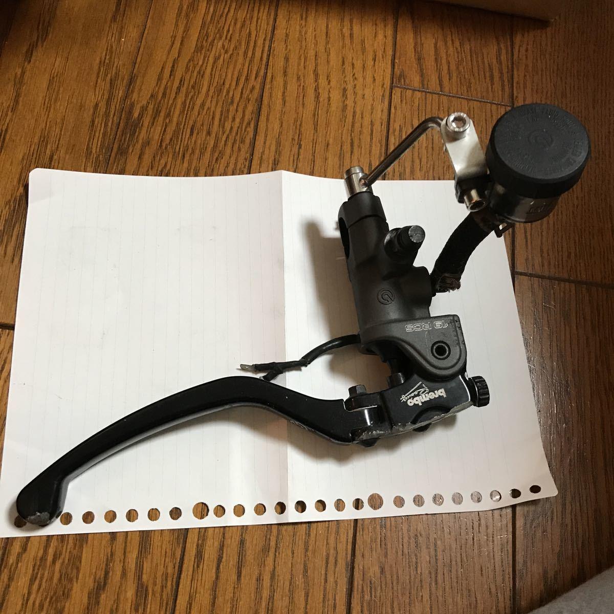 ブレンボ RCS ラジアルマスター 19mm 18から20