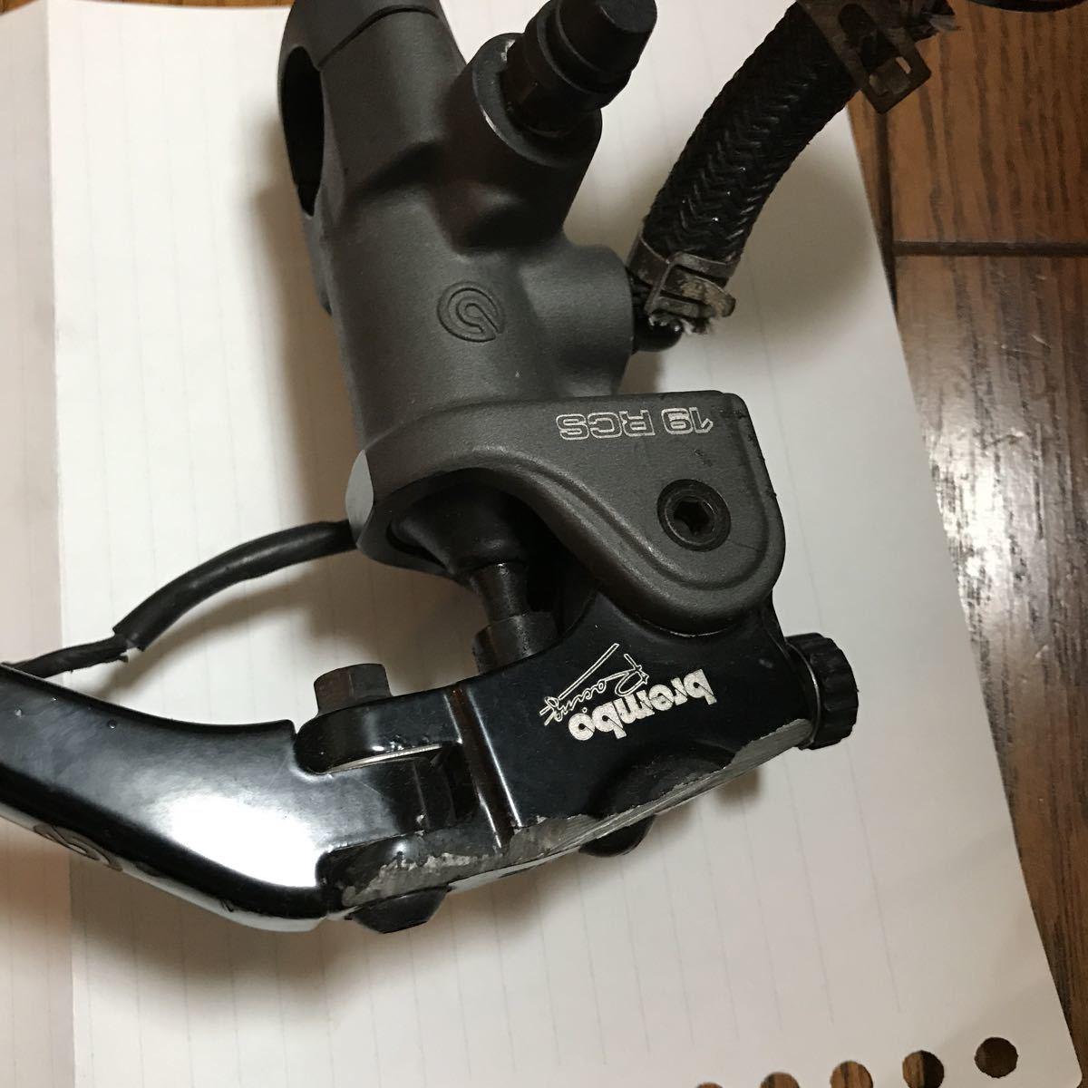 ブレンボ RCS ラジアルマスター 19mm 18から20_画像2