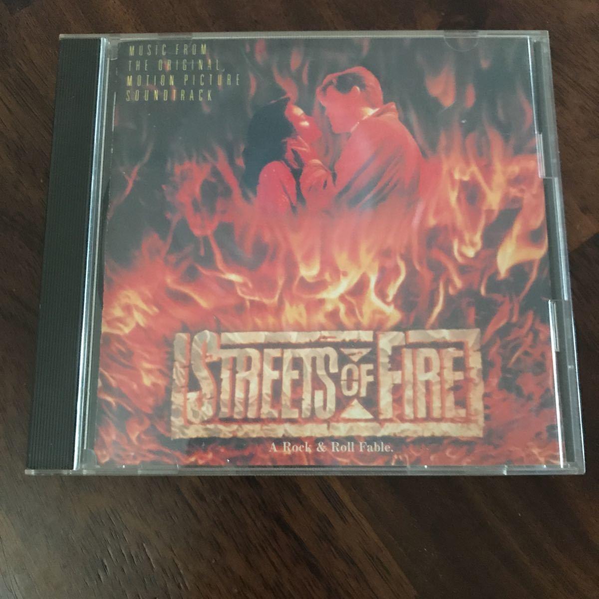 ストリート オブ ファイヤー CD オリジナル・サウンドトラック c54