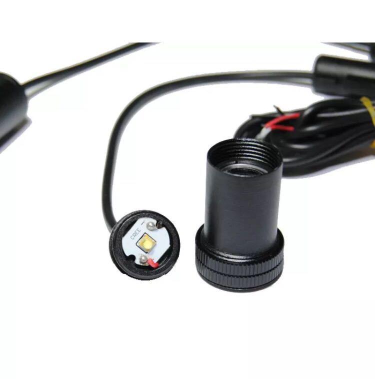 シボレー LED ロゴ エンブレム カーテシ アストロ アバランチ サバーバン タホ コルベット カマロ シルバラード インパラ カプリス c1500_画像3