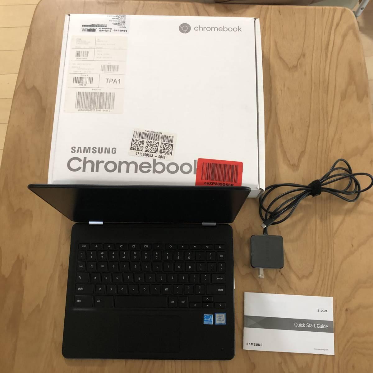 Samsung Chromebook Pro / ChromeOS / 英語キーボード
