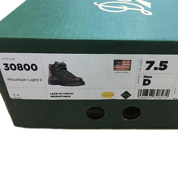 【特価】DANNER MOUNTAIN LIGHT2 Boots GORE-TEX、キャンプ、釣り、ブーツ、GTX、ゴアテックス、Vibram、ダナー、マウンテンライト2_画像10
