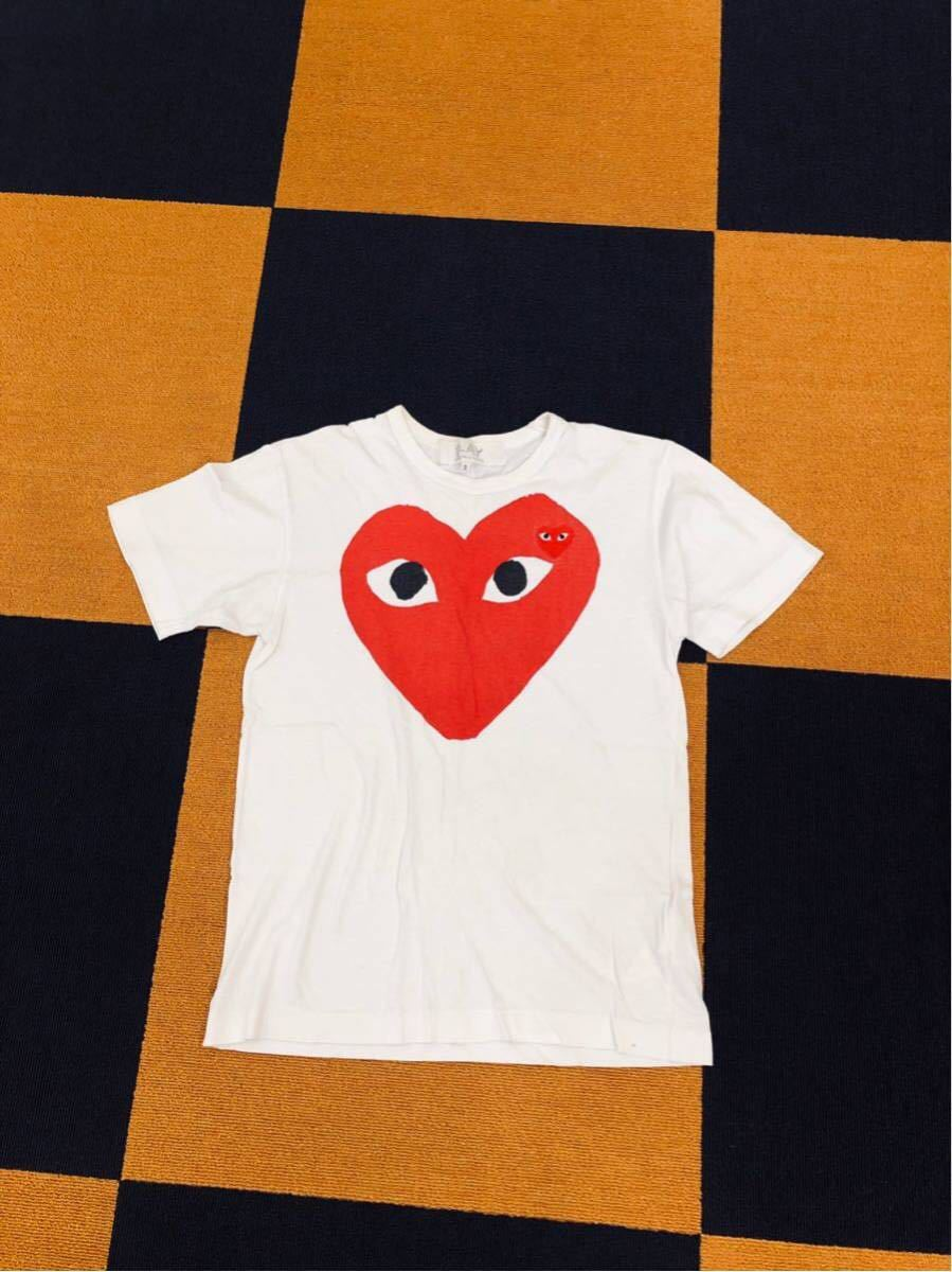 コムデギャルソン TシャツSサイズ
