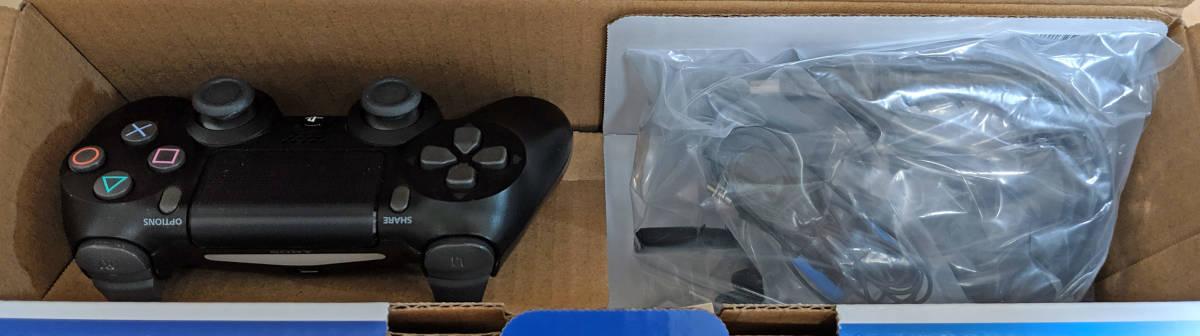PS4 CUH-2000A B01 PlayStation4 ジェット・ブラック 黒 500GB 欠品なし Slim SONY CUH-2000AB01 プレイステーション4_画像3