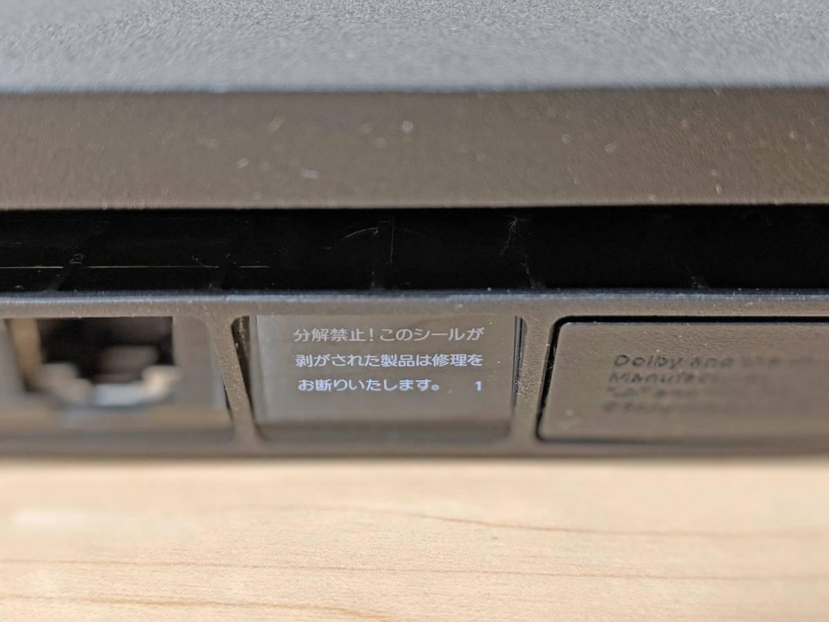 PS4 CUH-2000A B01 PlayStation4 ジェット・ブラック 黒 500GB 欠品なし Slim SONY CUH-2000AB01 プレイステーション4_画像7
