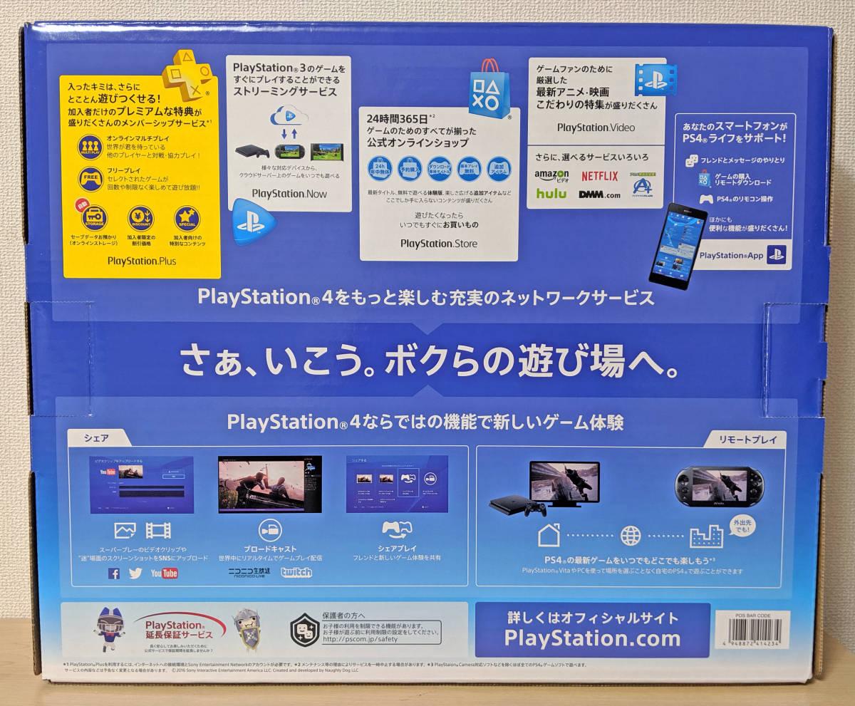 PS4 CUH-2000A B01 PlayStation4 ジェット・ブラック 黒 500GB 欠品なし Slim SONY CUH-2000AB01 プレイステーション4_画像6
