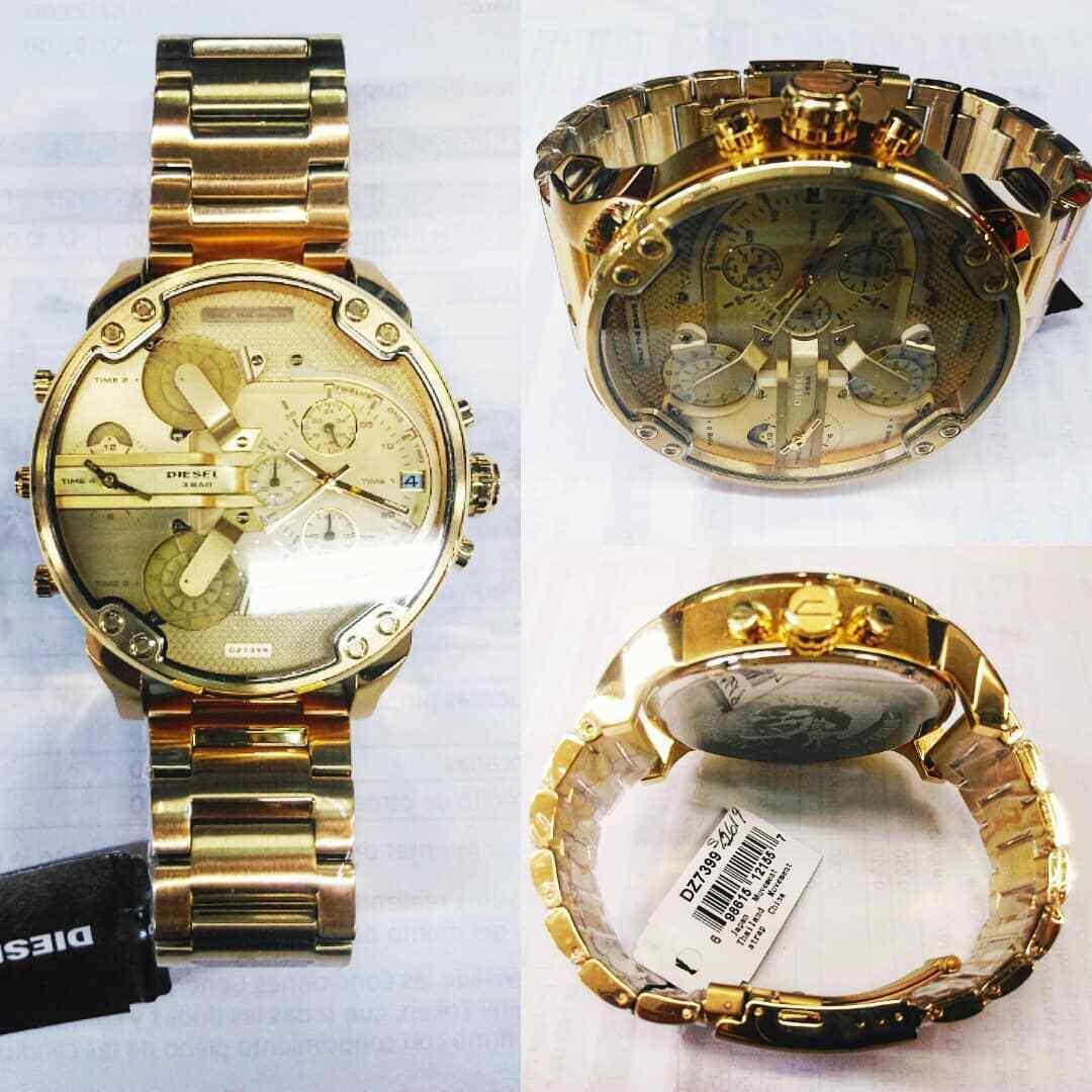 DIESEL 時計 腕時計 ディーゼル クロノグラフGMTメンズ DZ7399 Mr. Daddy 57mm 新品 未使用 保証つき_画像6