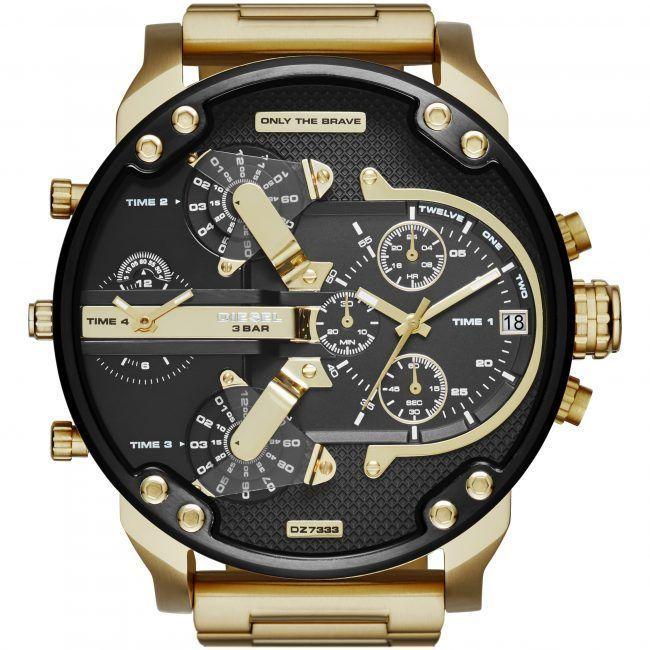 DIESEL 時計 腕時計 ディーゼル クロノグラフGMTメンズ DZ7333 Mr. Daddy 57mm 新品 未使用 保証つき_画像2