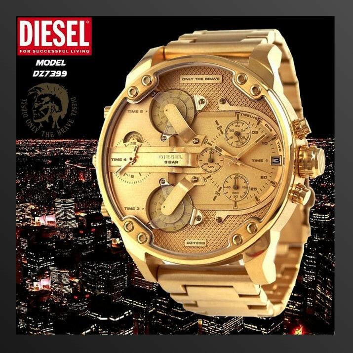 DIESEL 時計 腕時計 ディーゼル クロノグラフGMTメンズ DZ7399 Mr. Daddy 57mm 新品 未使用 保証つき